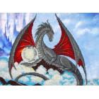Дракон Набор для частичной вышивки бисером Паутинка
