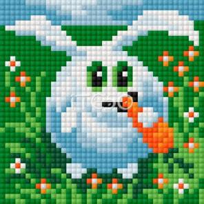 Кролик Алмазная мозаика на магнитной основе Iteso
