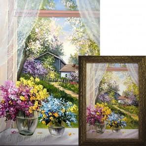 Деревенский сад Алмазная вышивка мозаика Гранни