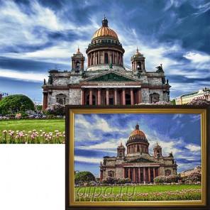 Исаакиевский собор Алмазная вышивка мозаика Гранни