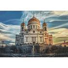 Раскладка Кафедральный соборный храм Христа Спасителя Алмазная вышивка мозаика Гранни