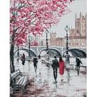 Раскладка Городской мост Алмазная вышивка мозаика Гранни