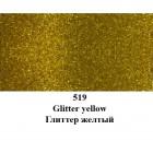 519 Желтый С глиттерами Краска для ткани Marabu ( Марабу ) Textil Glitter