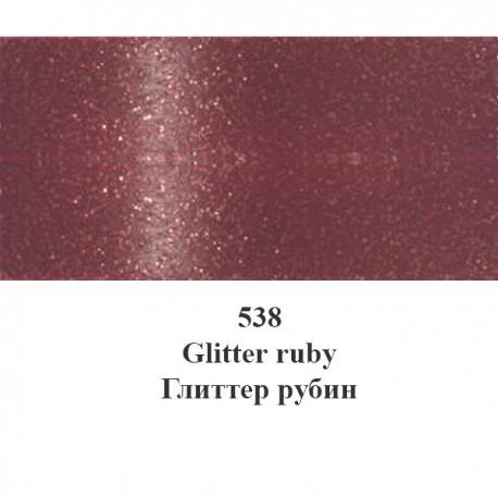 538 Рубин С глиттерами Краска для ткани Marabu ( Марабу ) Textil Glitter