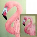 Розовый фламинго Алмазная вышивка мозаика Гранни