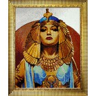 Готовая работа Клеопатра Алмазная вышивка мозаика Гранни