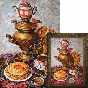 Царский чай Алмазная вышивка мозаика Гранни
