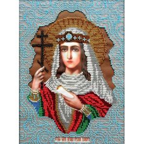 Святая Тамара Набор для частичной вышивки бисером Вышиваем бисером