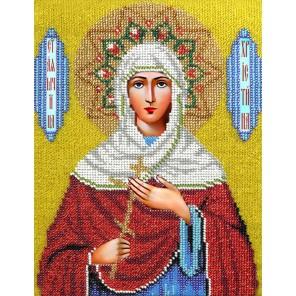 Святая Кристина Набор для частичной вышивки бисером Вышиваем бисером