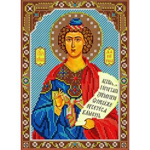 Святой Даниил Набор для частичной вышивки бисером Вышиваем бисером