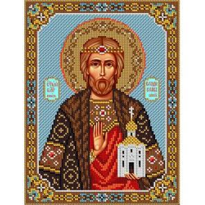 Святой Владислав Набор для частичной вышивки бисером Вышиваем бисером