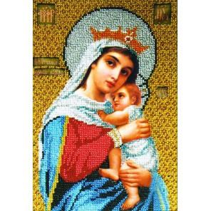 Богородица Отчаянных единая надежда Набор для частичной вышивки бисером Вышиваем бисером