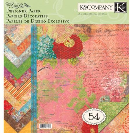 Яркость Набор бумаги для скрапбукинга K&Company