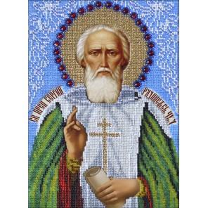 Святой Сергий Радонежский Набор для частичной вышивки бисером Вышиваем бисером