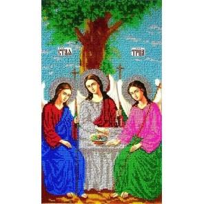 Святая Троица Набор для частичной вышивки бисером Вышиваем бисером