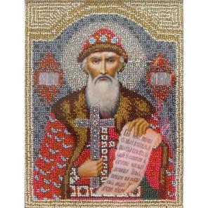 Святой Владимир Набор для частичной вышивки бисером Вышиваем бисером