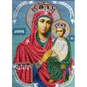 Богородица Споручница грешных Набор для частичной вышивки бисером Вышиваем бисером