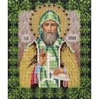 Святой Антон Набор для частичной вышивки бисером Вышиваем бисером