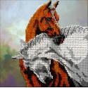 Лошади Набор для вышивки бисером Вышиваем бисером