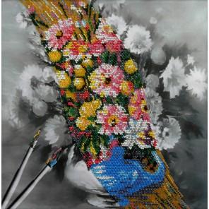 Живопись Набор для частичной вышивки бисером Вышиваем бисером