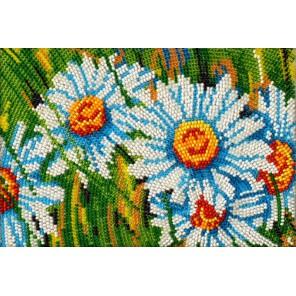 Ромахи Набор для частичной вышивки бисером Вышиваем бисером