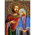 Святые Петр и Феврония Набор для вышивки бисером Вышиваем бисером