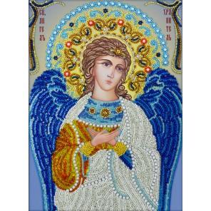 Ангел Хранитель Набор для частичной вышивки бисером Вышиваем бисером
