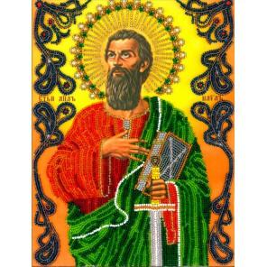 Святой Павел Набор для частичной вышивки бисером Вышиваем бисером