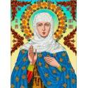 Святая Ангелина Набор для вышивки бисером Вышиваем бисером