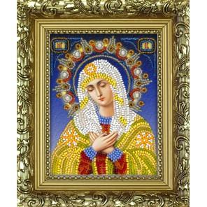 Богородица Умиление Набор для частичной вышивки бисером Вышиваем бисером