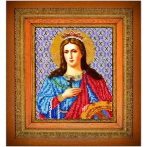 Святая Екатерина Набор для вышивки бисером Вышиваем бисером