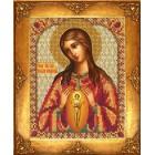 Богородица В родах Помощница Набор для частичной вышивки бисером Русская искусница