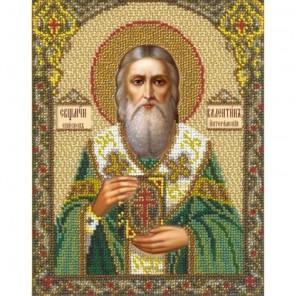 Святой Валентин Набор для частичной вышивки бисером Русская искусница