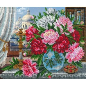 Натюрморт в венецианском стиле Набор для частичной вышивки бисером Русская искусница
