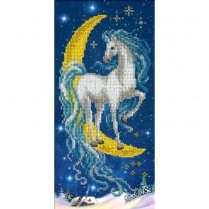 Волшебная лошадка Набор для частичной вышивки бисером Русская искусница