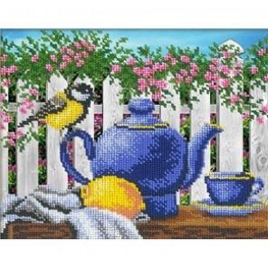 Чай с лимоном Набор для частичной вышивки бисером Русская искусница