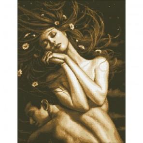 Летняя ночь Алмазная мозаика вышивка Паутинка