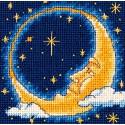 Месяц-мечтатель Набор для вышивания гобеленовым швом Dimensions