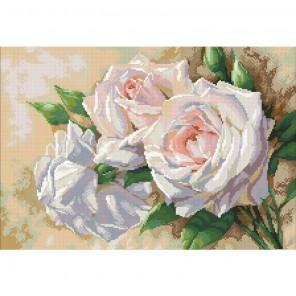 Античные розы Алмазная мозаика вышивка Паутинка