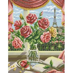 Французский букет Алмазная мозаика вышивка Паутинка