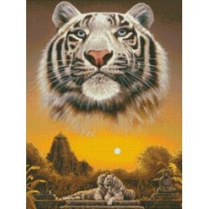 Царь джунглей Алмазная мозаика вышивка Паутинка