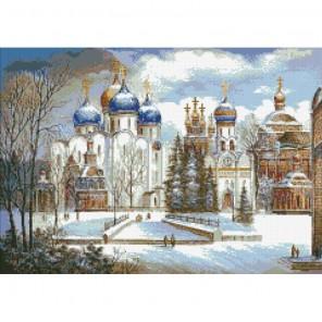 Русь православная Алмазная мозаика вышивка Паутинка