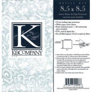 Файлы дополнительные 21,6х21,6 см K&Company