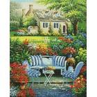 Уютный цветник Алмазная вышивка мозаика Гранни