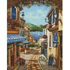 Курортная улочка Алмазная вышивка мозаика Гранни