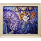 Венецианский фестиваль Алмазная вышивка мозаика Гранни - готовая работа в рамке