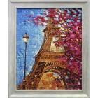 Парижские краски Алмазная вышивка мозаика Гранни - готовая работа в рамке