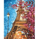 Парижские краски Алмазная вышивка мозаика Гранни - оригинал изображения