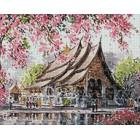 Пагода Алмазная вышивка мозаика Гранни