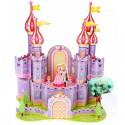 Фиолетовый замок 3D Пазлы Zilipoo